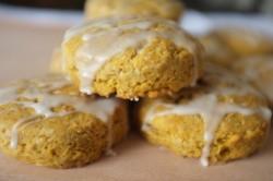 recette sans gluten de scones au potiron & sirop d'érable