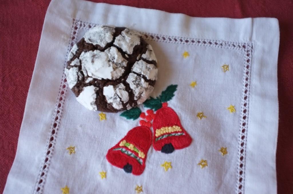 Le cookie des neiges sans gluten pour Noël