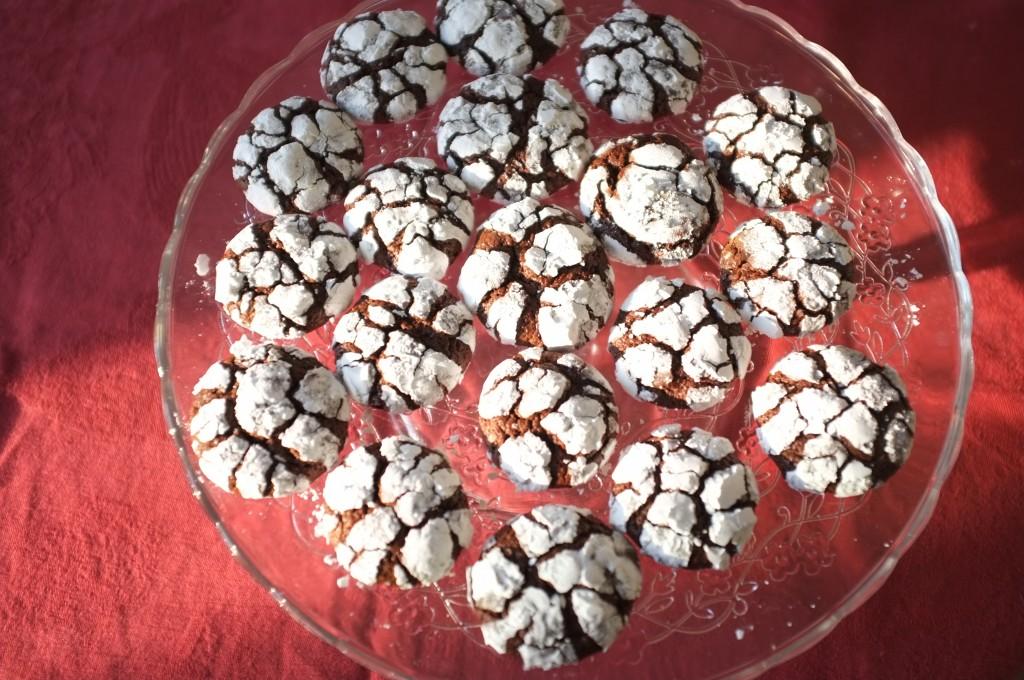 Les cookies des neiges sans gluten
