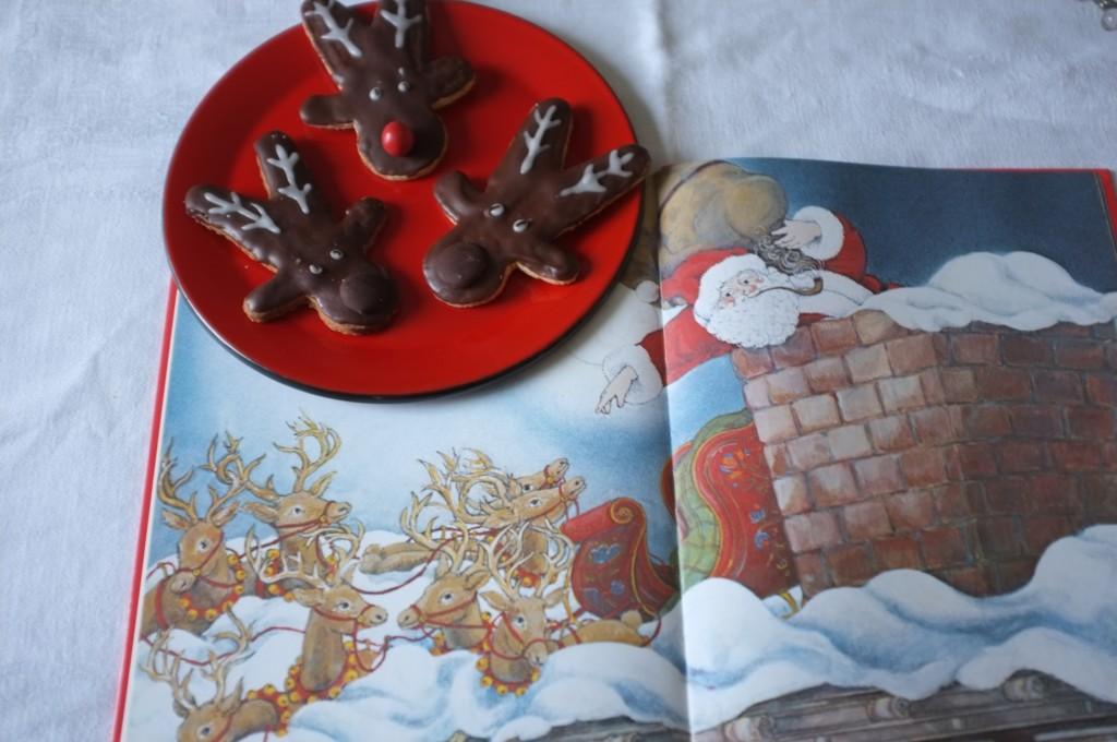 Les biscuits sans gluten Rudolphe pour lire un beau conte de Noël