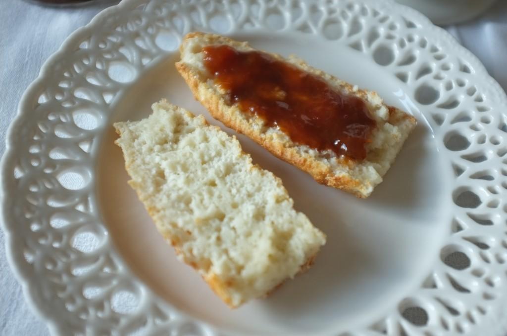 les petites baguettes sans gluten pour faire des tartines...