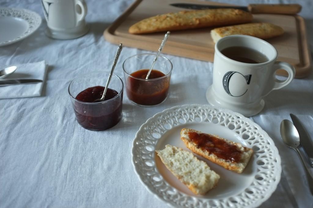 Les petites baguettes sans gluten pour faire des tartines
