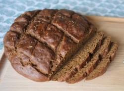 recette sans gluten de pain rustique au cumin