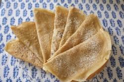 recette sans gluten de crêpe légère