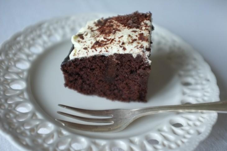 recette sans gluten de gâteau chocolat café pour Damien