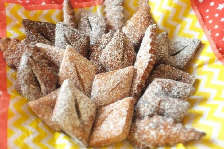recette sans gluten de Merveilles pour Mardi Gras