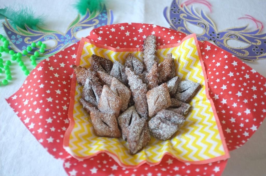 Les merveilles sans gluten son prettent pour célébrer Mardi Gras