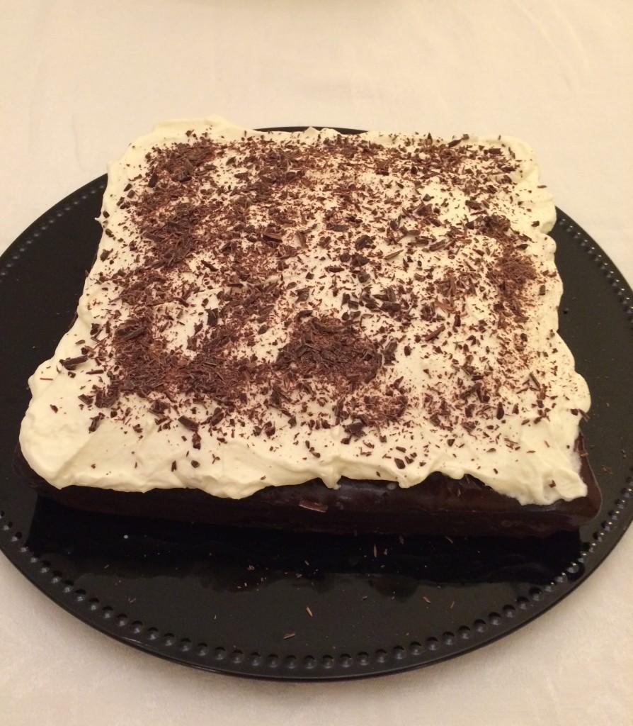 Le gâteaus sans gluten chocolat café pour Damien