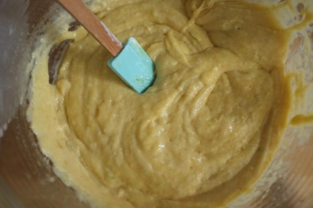 La pâte sans gluten pour la cake citron vert de Laurent Mariotte