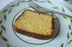 recette sans gluten du cake au citron vert de Laurent Mariotte