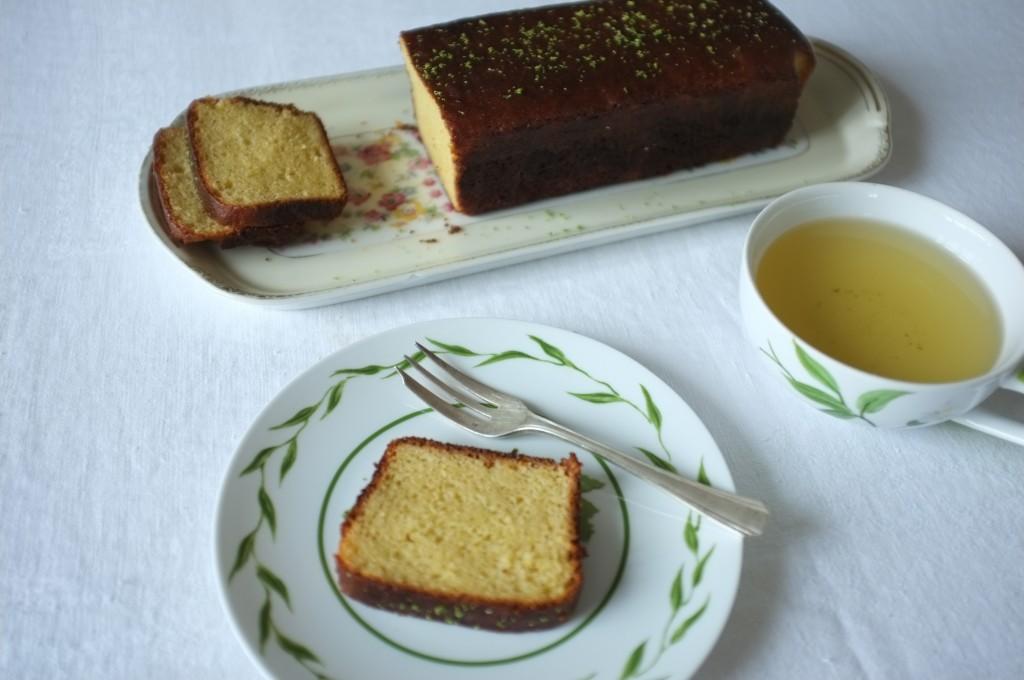 Ma version sans gluten du cake citron vert de Laurent Mariotte