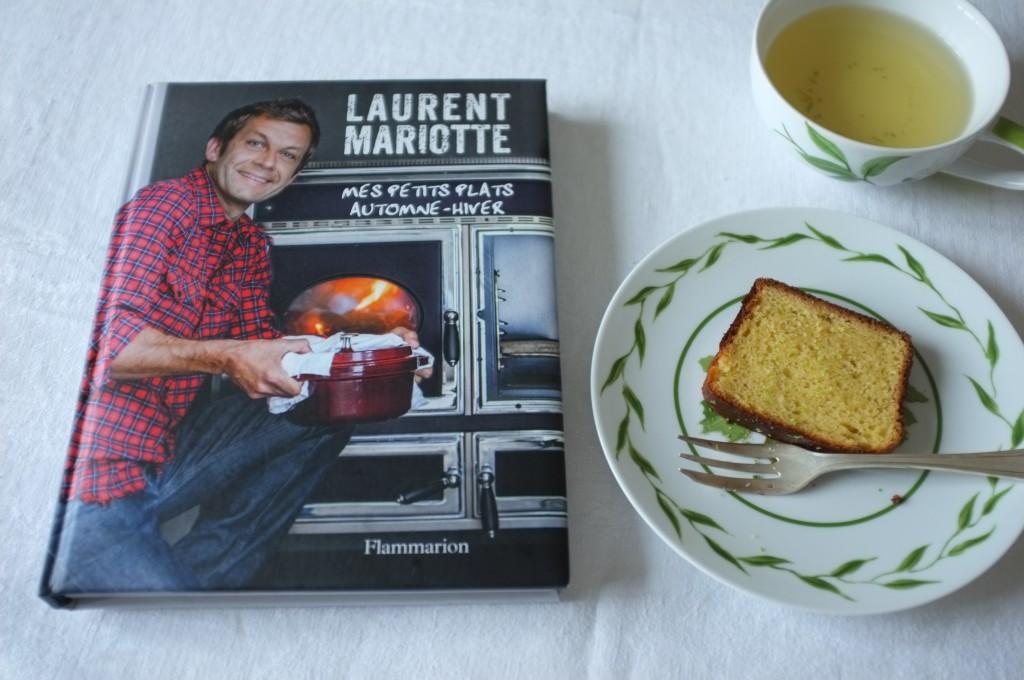 """Le livre """"mes petits plats automne-hiver de Laurent Mariotte, ed. Flamarion"""