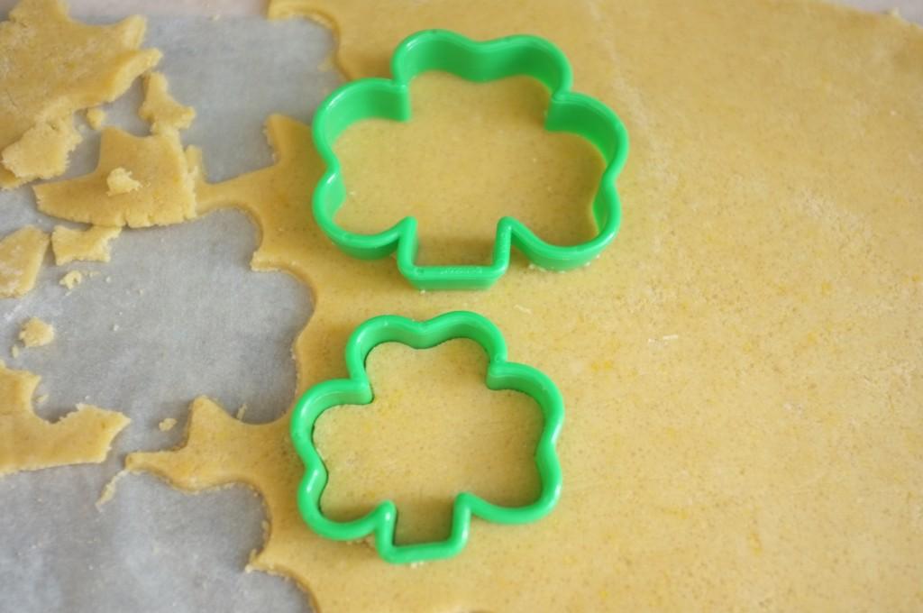 Les trefles Irlandais en emporte pièce pour les cookies Saint Patrick 2015