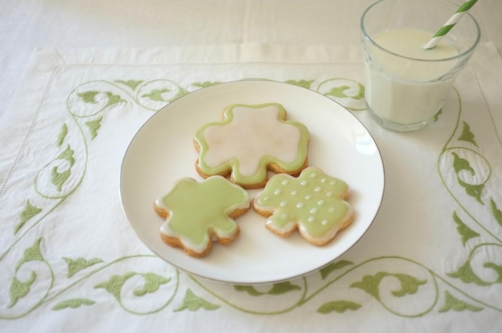 Les cookies Saint Patrick 2015