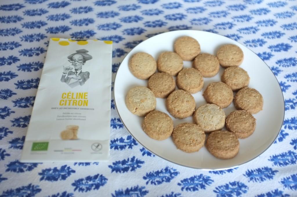 Les biscuits Céline citron