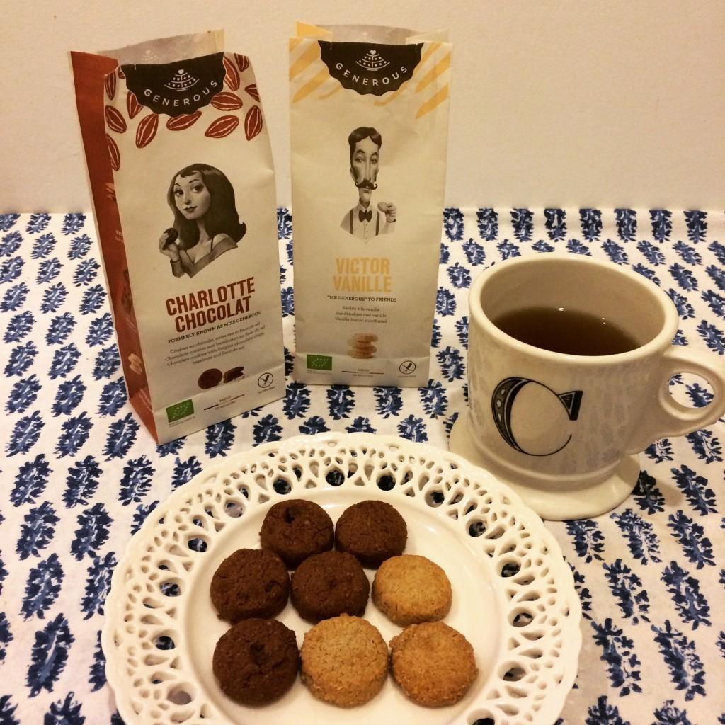 La première photo de mon Instagram avec les biscuits offerts par Victor et Gaspard