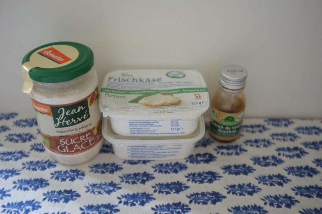 A mon heureuse surprise, la crème de fromage de mon magasin Bio est sans lactose.