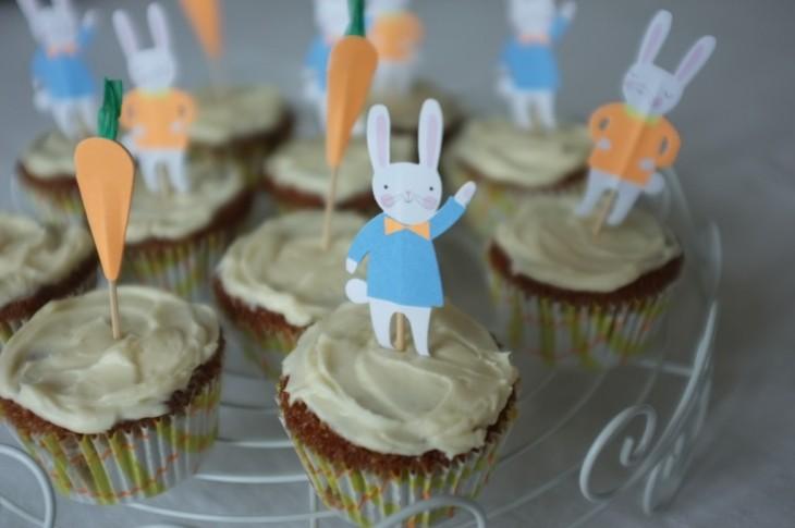 recette sans gluten de cupcake à la carotte