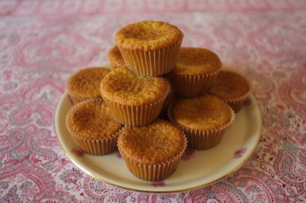 les muffins sans gluten amande framboise pour notre petit déjeuner