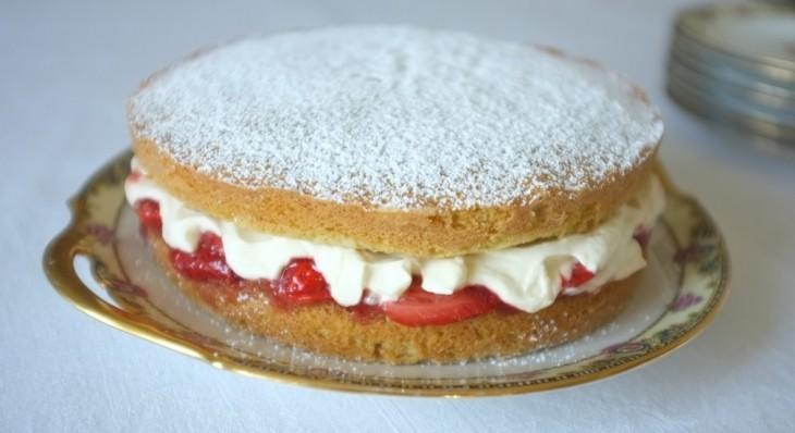 recette sans gluten du gâteau Victoria