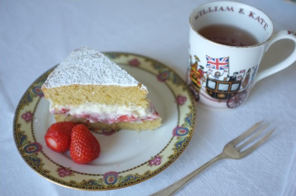 ... gluten et une tasse de thé en lhonneur du mariage des Kate & Wil...