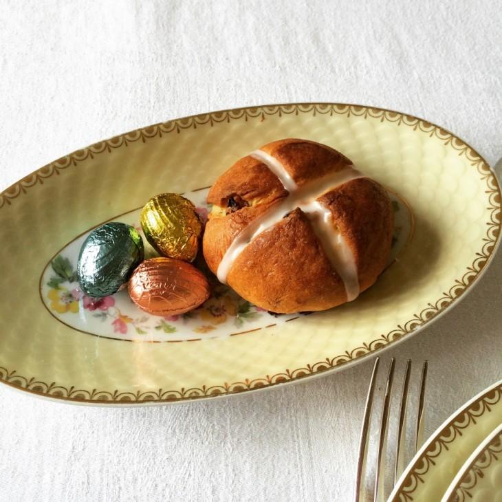 recette sans gluten de petits pains de Pâques