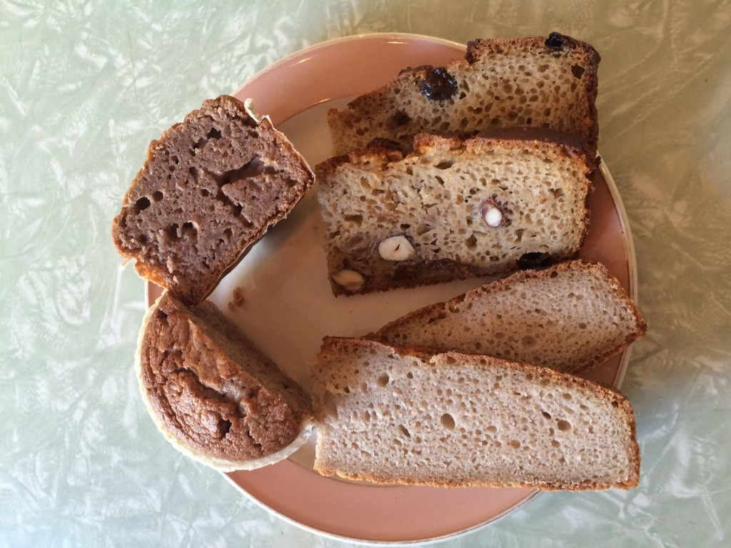 Les pains et l'incroyable muffin aux marrons d'Ardèche
