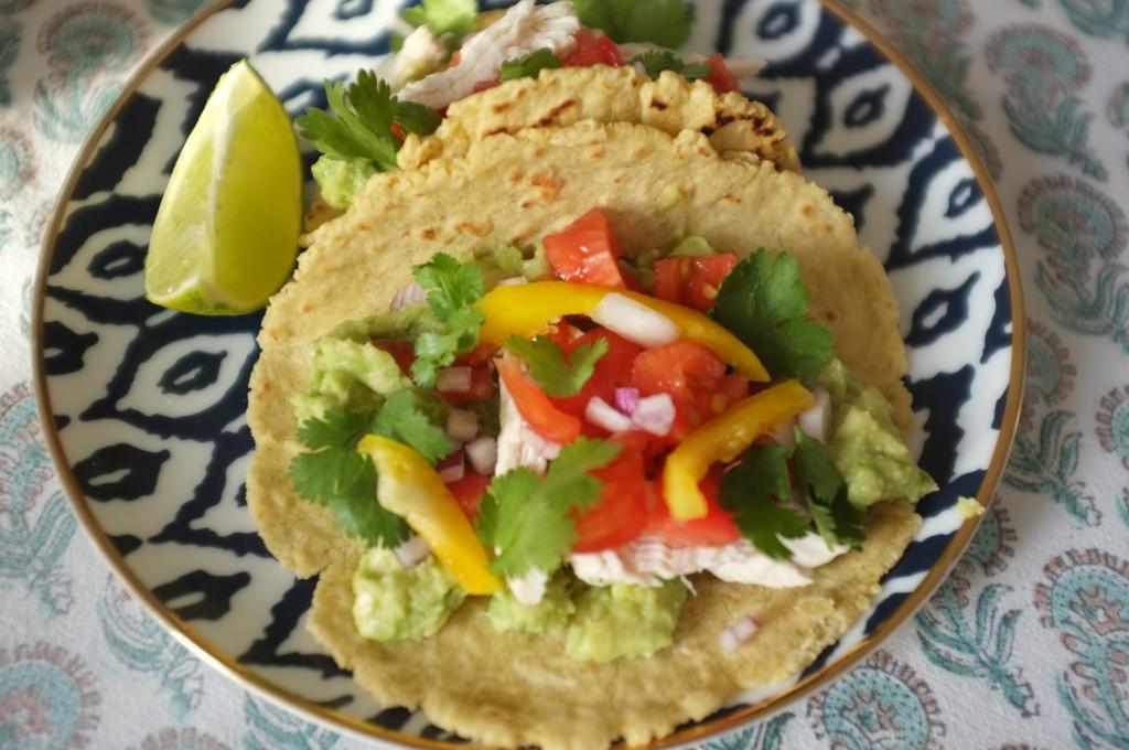Nos tacos mexicain sans gluten pour la fête des pères 2015