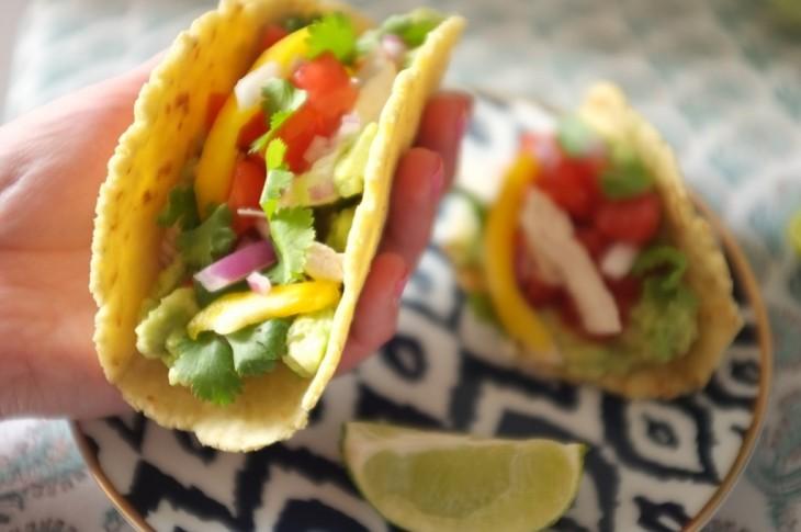 recette sans gluten de tacos mexicains pour la fête des pères