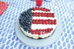 recette sans gluten de gâteau patriotique 2015
