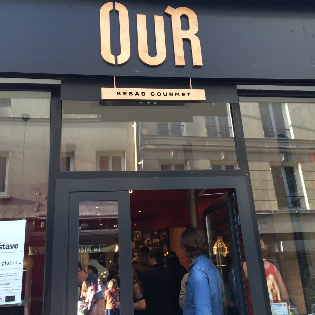OUR, 12 rue de Paradis 75010 PAris