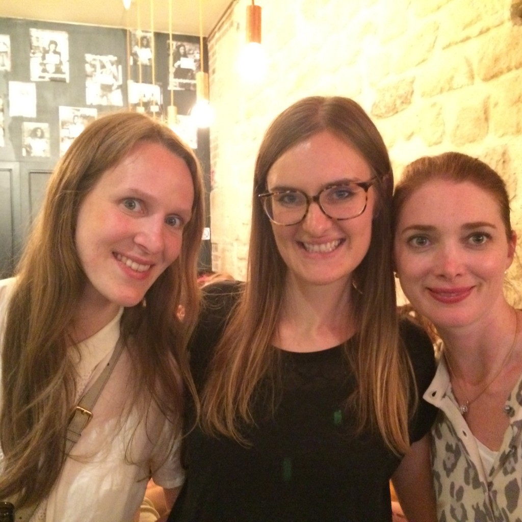 """Alexandra, Louise et moi, où comment le """"sans gluten"""" vous fait rencontrer de nouvelles amies passionnées et passionnantes."""