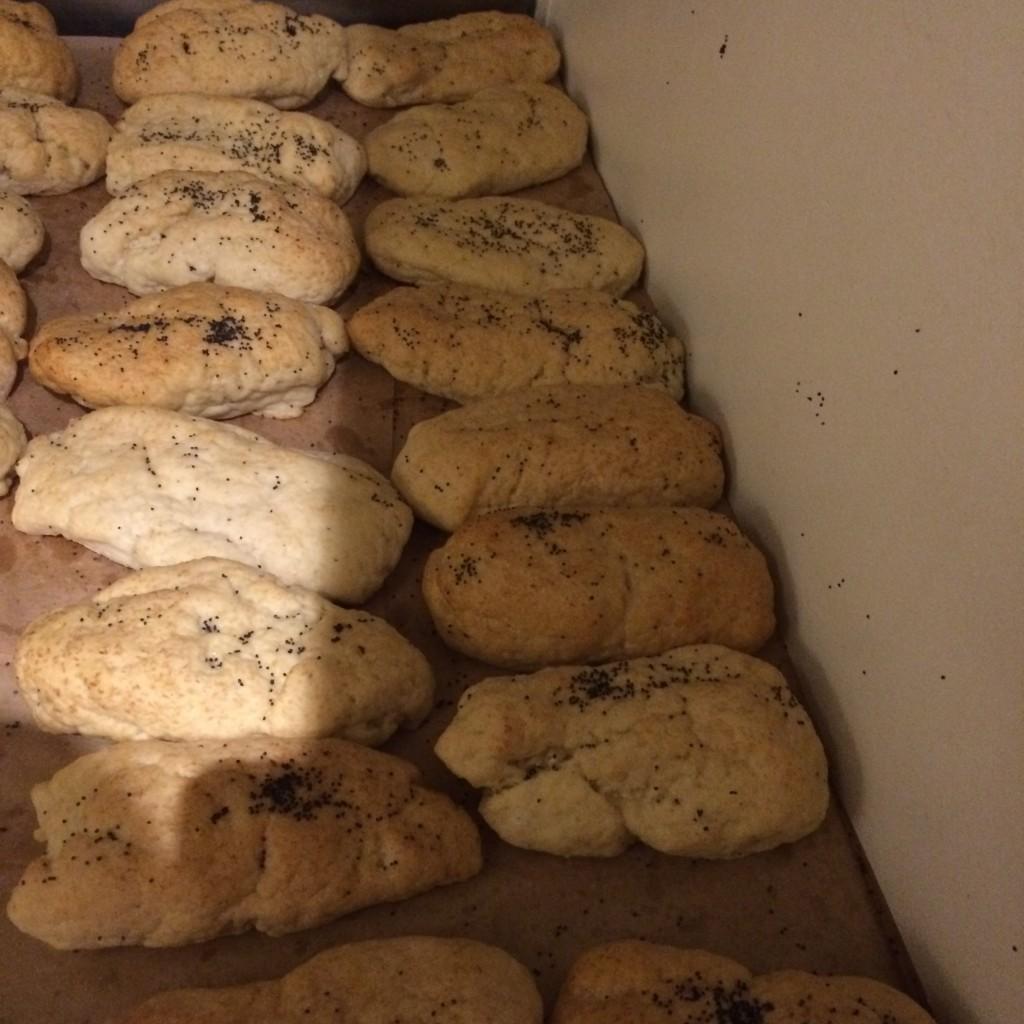 Les pains sans gluten de Fanny pour les Kabab