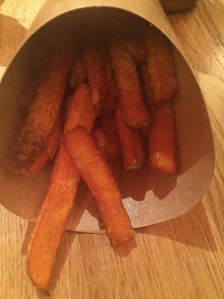 les frites sans gluten de patate douce, une pure merveille