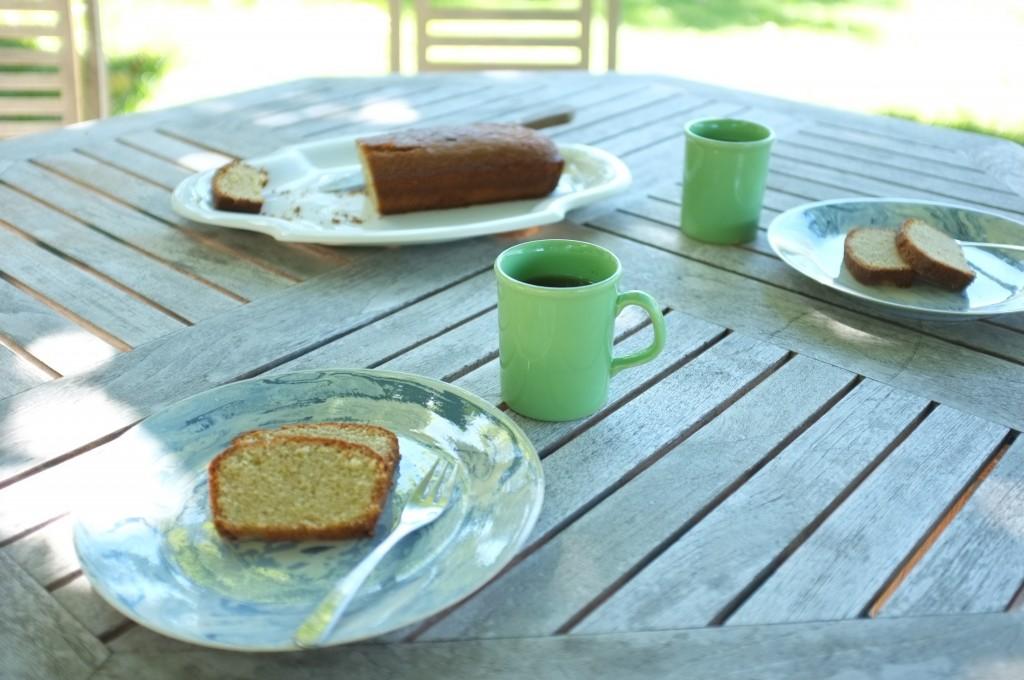 le cake au citron pour le goûter d'été en Provence