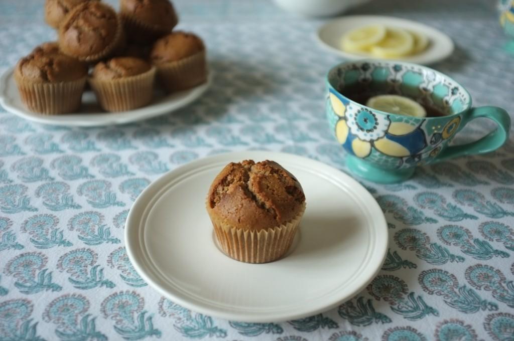 Les muffins sans gluten au sarrasin pour notre petit déjeuner