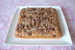 recette sans gluten de gâteau chocolat, noisette et cannelle