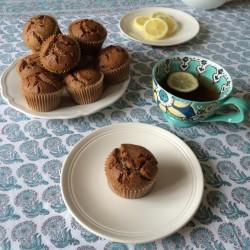 recette sans gluten de muffins au sarrasin