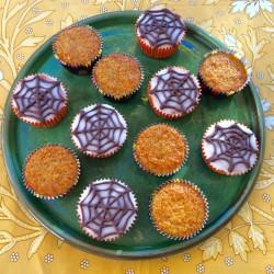 recette de muffins carotte orange pour Halloween 2015