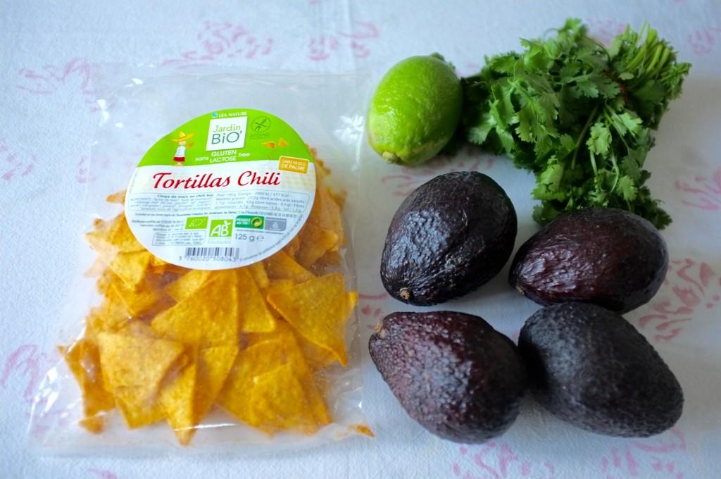 Les tortillas Chili de la marque Jardin Bio, certifiés par l'Afdiag et doucement épicés pour acompagner notre guacamole.
