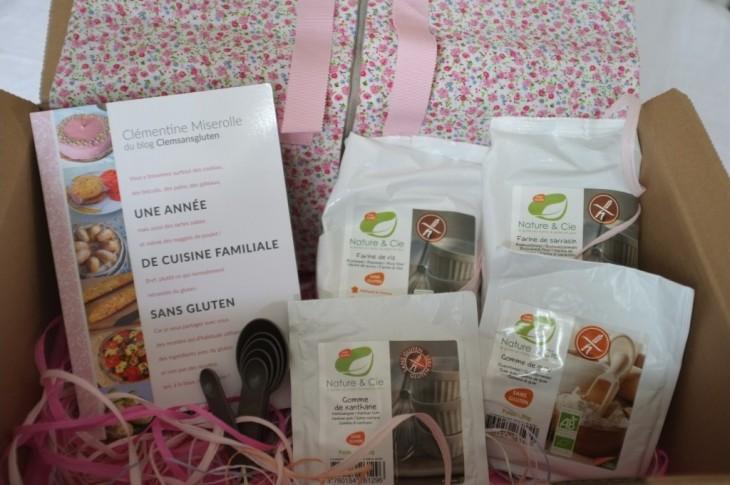 Concours de mon livre «Une année de cuisine familiale sans gluten» sur ma page Facebook