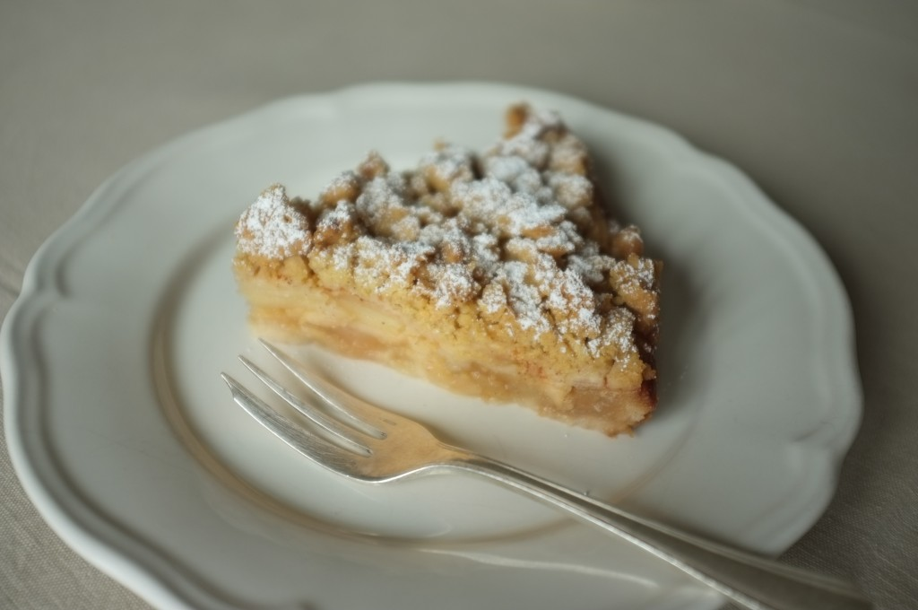 Le gâteau aux pommes