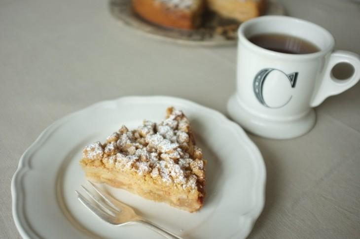 Recette sans gluten de gâteau aux pommes
