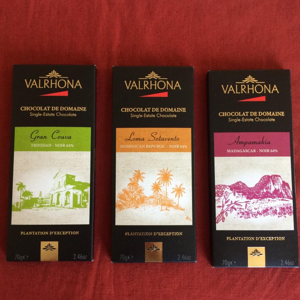 Le chocolat noir Valhrona à déguster, et sans trace de gluten !
