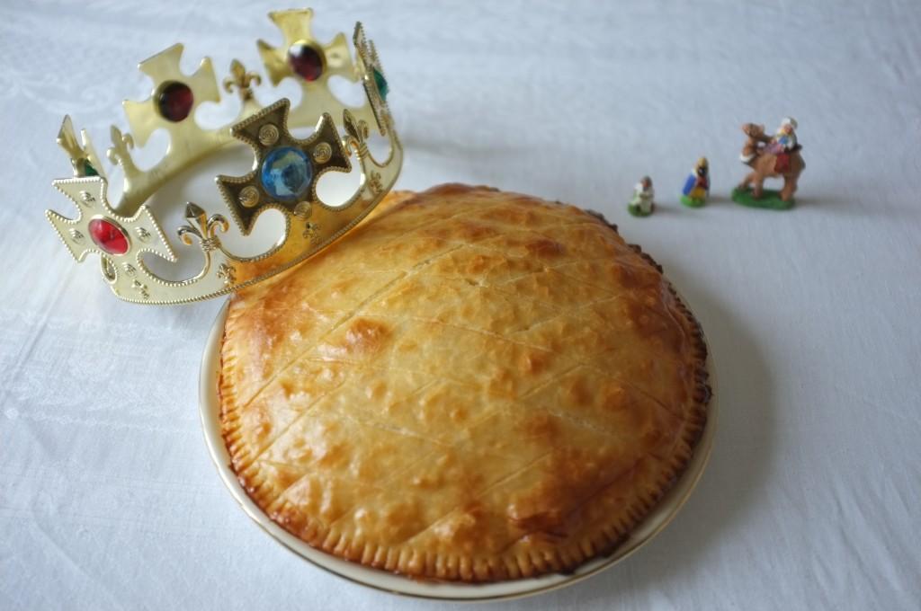 Ma galette des Rois avec la pâte feuilletée de Nature & Cie