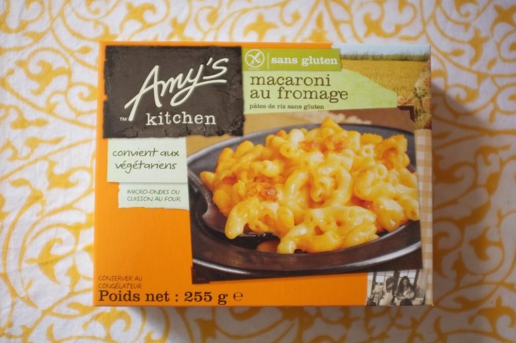 """Les pâte """"mac & cheese"""" sans gluten de Amy's Kitchen"""