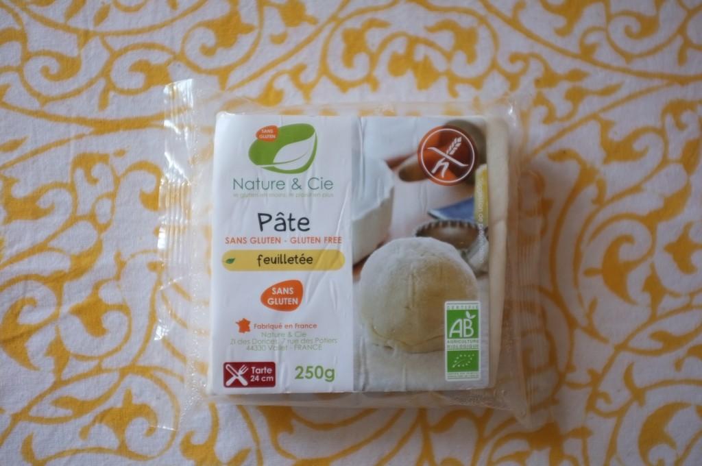 Le pâte feuilletée Bio et sans gluten de Nature & Cie