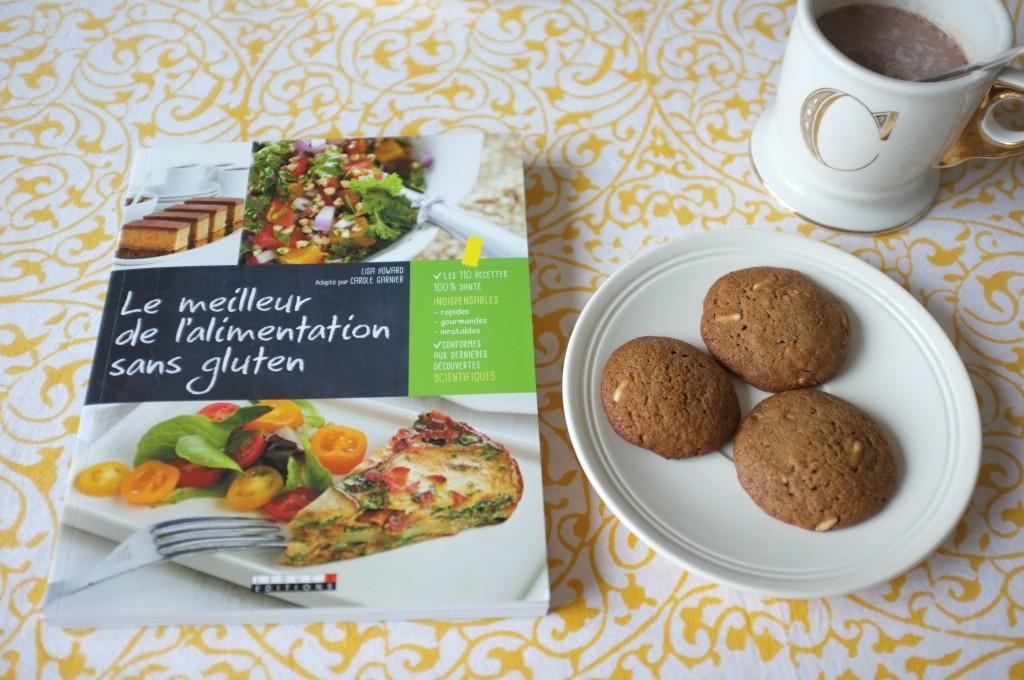 Le livre de Lisa Howard, qui aime comme moi utiliser des farines sans gluten varié.
