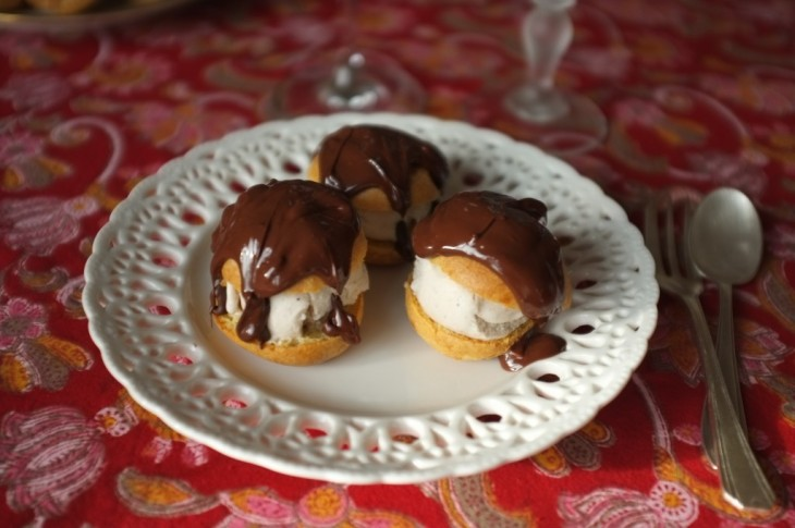 recette sans gluten de profiterole au chocolat