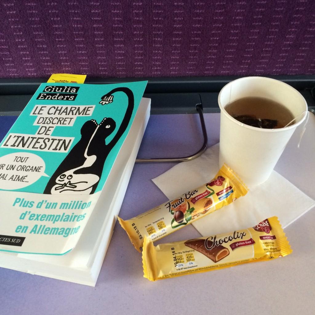 Ma chocolix pendant mon voyahe TGV en direction de la Provence (à la Toussaint).
